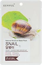 Parfémy, Parfumerie, kosmetika Pleťová látková maska s hlemýžďovým mucinem - Eunyul Natural Moisture Mask Pack