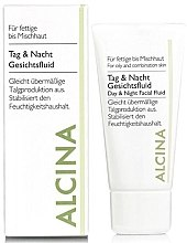 Parfémy, Parfumerie, kosmetika Denní a noční fluid pro mastnou pleť - Alcina FM Day and Night Facial Fluid