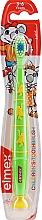 Parfémy, Parfumerie, kosmetika Dětský zubní kartáček (3-6 let), zelený - Elmex Kinder Toothbrush