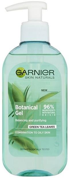Čisticí gel - Garnier Skin Naturals Botanical Gel Green Tea Leaves