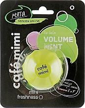 Parfémy, Parfumerie, kosmetika Balzám na rty Máta - Cafe Mimi Lip Balm Volume Mint