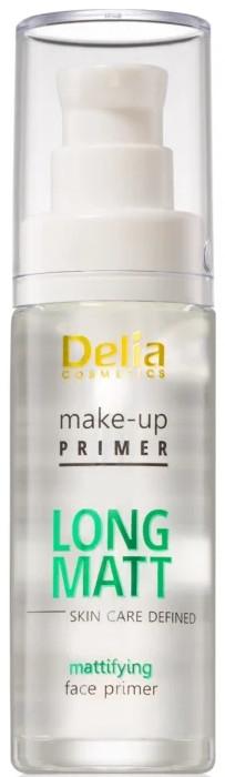 Podkladové báze - Delia Cosmetics Long Matt Make Up Primer