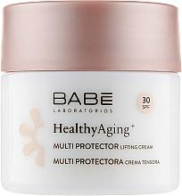 Parfémy, Parfumerie, kosmetika Denní liftingový krém DMAE a SPF 30 - Babe Laboratorios Healthy Aging Multi Protector Lifting Cream