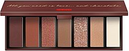 Parfémy, Parfumerie, kosmetika Paleta na líčení očí - Pupa Zero Calorie Chocolate Eyeshadow Palette