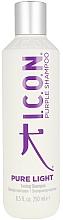 Parfémy, Parfumerie, kosmetika Šampon pro tónování vlasů - I.C.O.N. Pure Light Toning Shampoo