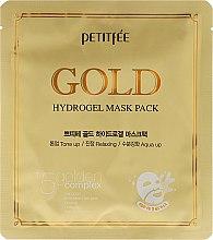 Parfémy, Parfumerie, kosmetika Hydrogelová maska na obličej se zlatým komplexem + 5 - Petitfee&Koelf Gold Hydrogel Mask Pack +5 Golden Complex