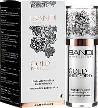 Parfémy, Parfumerie, kosmetika Omlazující peptidový elixír - Bandi Professional Gold Philosophy Rejuvenating Peptide Elixir