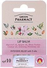 Parfémy, Parfumerie, kosmetika Balzám na rty 5 olejů - Green Pharmacy Lip Balm With 5 Oils SPF 10