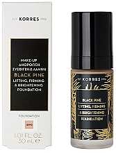 Parfémy, Parfumerie, kosmetika Make-up - Korres Black Pine Lifting, Firming & Brightening Foundation