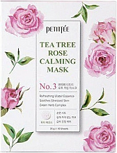 Parfémy, Parfumerie, kosmetika Zklidňující pleťová maska - Petitfee&Koelf Tea Tree Rose Calming Mask