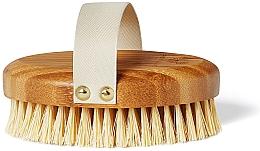 Parfémy, Parfumerie, kosmetika Bambusový kartáč pro suchou masáž - Crystallove Bamboo Agave Body Brush