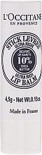 Parfémy, Parfumerie, kosmetika Ultra výživný balzám na rty - L'occitane Ultra Rich Stick Lip Balm