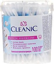 """Parfémy, Parfumerie, kosmetika Vatové tyčinky """"Classic"""", 100 ks - Cleanic Face Care Cotton Buds"""