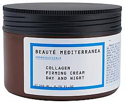 Parfémy, Parfumerie, kosmetika Kolagenový zpevňující krém - Beaute Mediterranea Collagen Firming Cream Day & Night