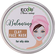 Parfémy, Parfumerie, kosmetika Balanční maska s jílem pro mastnou pleť - Eco U Balancing Clay Face Mask For Oily Skin