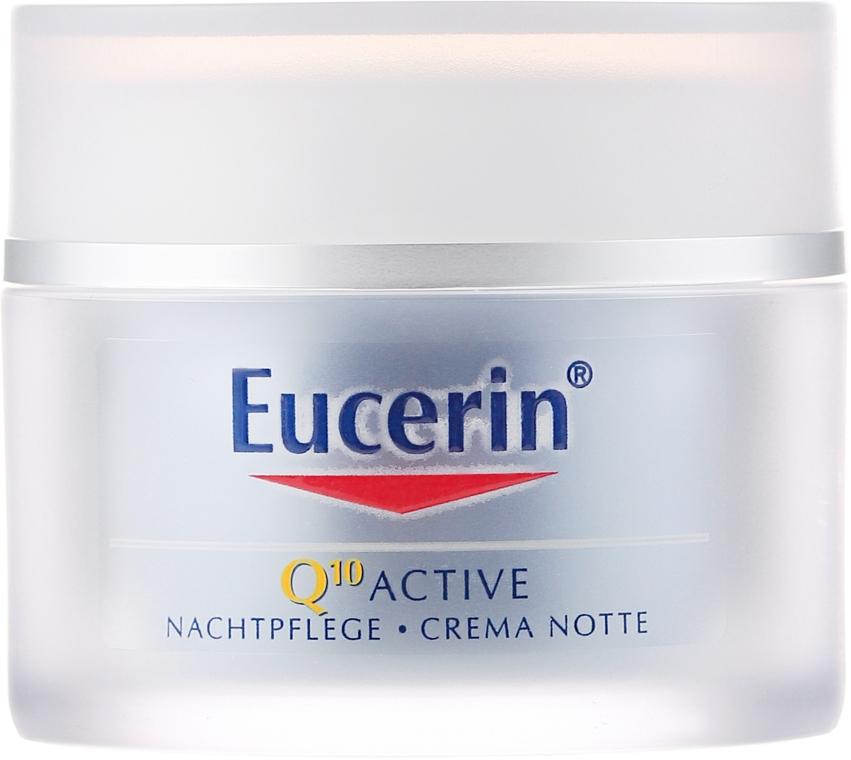Anti-age noční krém na obličej - Eucerin Q10 Active Night Cream  — foto N2