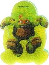 Parfémy, Parfumerie, kosmetika Dětská houba na mytí Želvy Ninja Michelangelo 3 - Suavipiel Turtles Bath Sponge