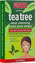 Parfémy, Parfumerie, kosmetika Čistící proužky na nos - Beauty Formulas Tea Tree Deep Cleansing Nose Pore Strips