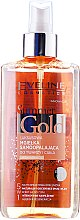 Parfémy, Parfumerie, kosmetika Sprej na obličej a tělo 5v1 - Eveline Cosmetics Summer Gold Spray