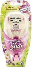Parfémy, Parfumerie, kosmetika Holicí strojek se 2 vyměnitelnými kazetami - Dorco Shai 3+3