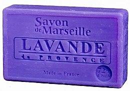 """Parfémy, Parfumerie, kosmetika Přírodní mýdlo """"Provensálské levandule"""" - Le Chatelard 1802 Provence Lavender"""