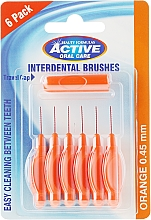 Parfémy, Parfumerie, kosmetika Mezizubní kartáče, 0,45mm, oranžové - Beauty Formulas Active Oral Care Interdental Brushes
