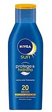 Parfémy, Parfumerie, kosmetika Tělový opalovací lotion  - Nivea Sun Protect And Moisture Lotion SPF 20