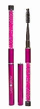 Parfémy, Parfumerie, kosmetika Kartaček na řasy a obočí, růžový - Lash Brow Pink