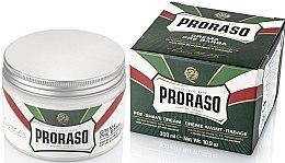 Parfémy, Parfumerie, kosmetika Krém na holení s mentolem a eukalyptem - Proraso Green Pre Shaving Cream