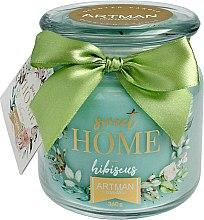 Parfémy, Parfumerie, kosmetika Aromatická svíčka, 10x11 cm., 360g. - Artman Sweet Home Hibiscus