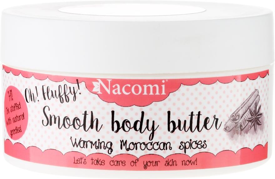 """Tělový olej """"Teplé marocké koření"""" - Nacomi Smooth Body Butter Warming Moroccan Spices — foto N1"""
