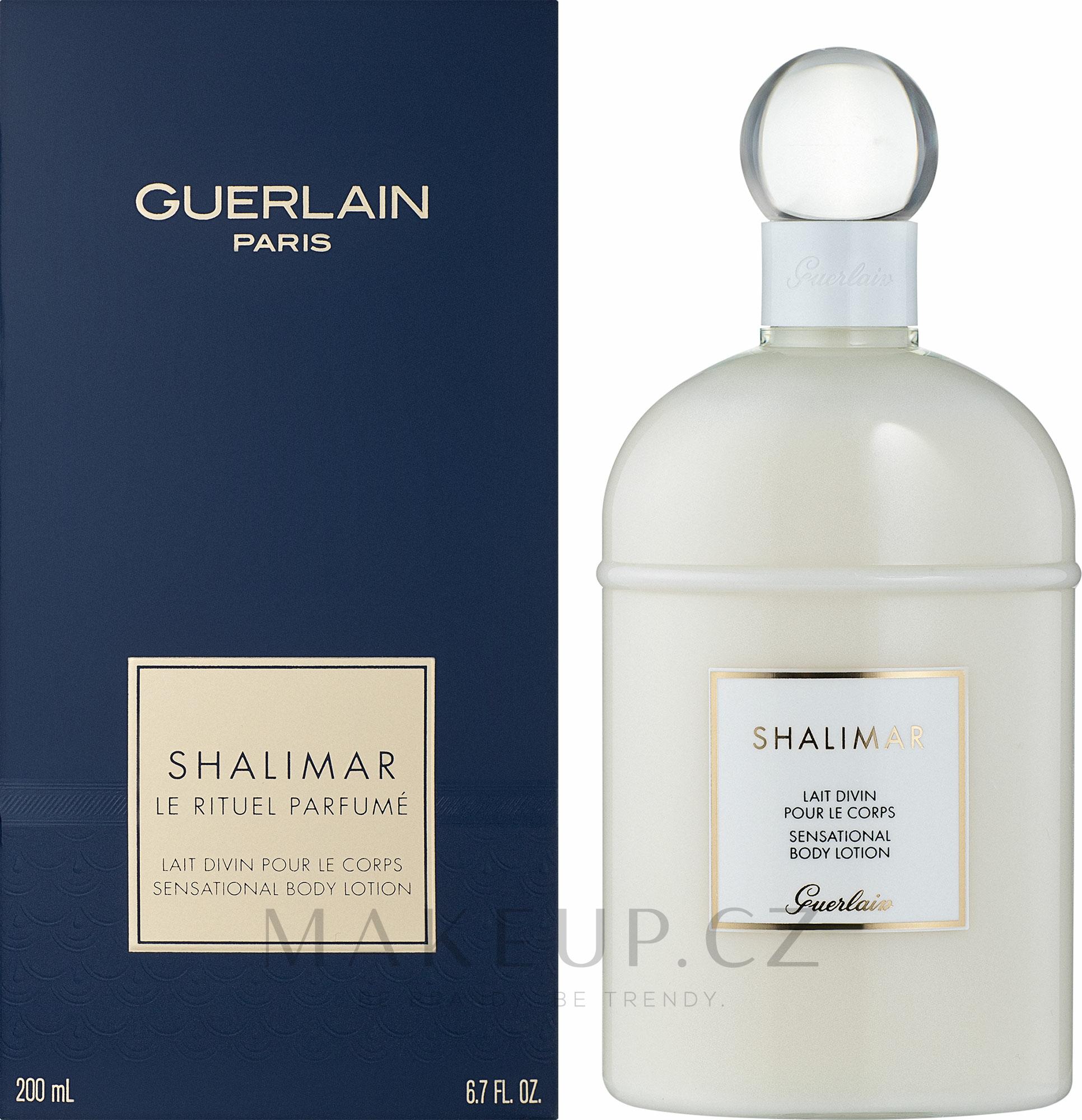 Guerlain Shalimar - Tělové mléko — foto 200 ml