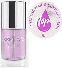 Parfémy, Parfumerie, kosmetika Olej na nehty a kůžičku s vůní jasmínu a lilie - Semilac Care Nail & Cuticle Elixir Hope