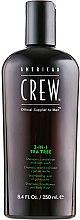 "Parfémy, Parfumerie, kosmetika Prostředek pro péči o vlasy a tělo 3-in-1 ""Tea Tree"" - American Crew Tea Tree 3-in-1 Shampoo, Conditioner and Body Wash"