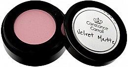 Parfémy, Parfumerie, kosmetika Matné oční stíny - Constance Carroll Velvet Matte Mono Eyeshadow