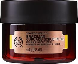 Parfémy, Parfumerie, kosmetika Olejový peeling - The Body Shop Brazilian Cupuacu Scrub-in-oil