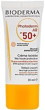 Parfémy, Parfumerie, kosmetika Opalovací krém - Bioderma Photoderm AR Spf 50+ Tinted Sun Cream