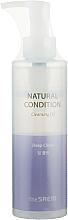 Parfémy, Parfumerie, kosmetika Hluboce čistící hydrofilní olej - The Saem Natural Condition Cleansing Oil Deep Clean