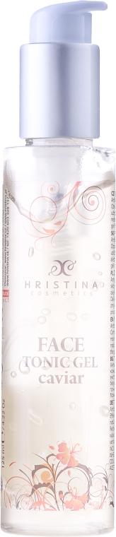 Čistící pleťové gel-tonikum přírodní s kaviárem - Hristina Cosmetics Orient Caviar Cleansing Gel