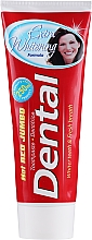 Parfémy, Parfumerie, kosmetika Zubní pasta Extra bělení - Dental Hot Red Jumbo Extra Whitening Toothpaste
