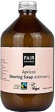Parfémy, Parfumerie, kosmetika Holicí mýdlo - Fair Squared Apricot Shaving Soap Intimate