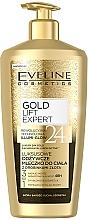 Parfémy, Parfumerie, kosmetika Mléko na tělo se zlatými částicemi - Eveline Cosmetics Gold Lift Expert 24K