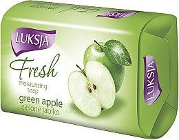 "Parfémy, Parfumerie, kosmetika Mýdlo ""Zelené jablko"" - Luksja Fresh Green Apple Moisturizing Soap"