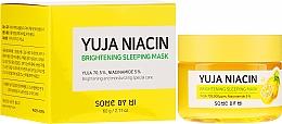 Parfémy, Parfumerie, kosmetika Noční maska na obličej - Some By Mi Yuja Niacin Brightening Sleeping