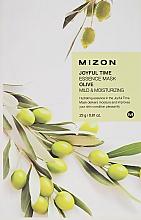 Parfémy, Parfumerie, kosmetika Plátýnková maska s výtažkem z olivy - Mizon Joyful Time Olive Essence Mask