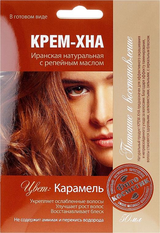 Krémová henna v hotovém stavu s lopuchovým olejem - Fito Kosmetik