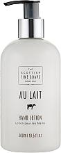 Parfémy, Parfumerie, kosmetika Mléko na ruce - Scottish Fine Soaps Au Lait Hand Lotion