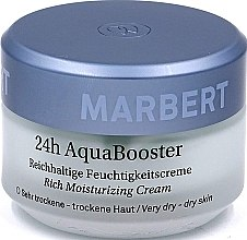 Parfémy, Parfumerie, kosmetika Krém na suchou pokožku obličeje - Marbert 24h Aqua Booster Moisturizing Cream For Dry Skin