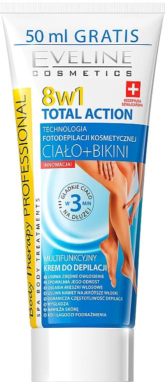 Depilační krém 8 v 1 - Eveline Cosmetics 8w1 Total Action