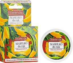 Parfémy, Parfumerie, kosmetika Máslo na ruce Výživný banán - Bielenda Hand Butter Nourishing Banana